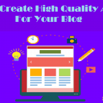 How To Create High Quality Blog Articles Using Popular Blogs Polls