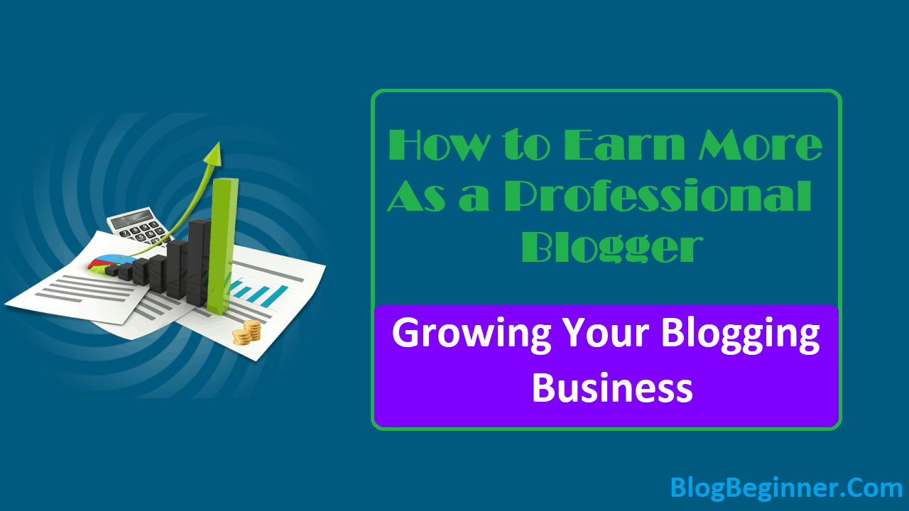 Growing Your Blogging Business How to Earn More as a Professional Blogger