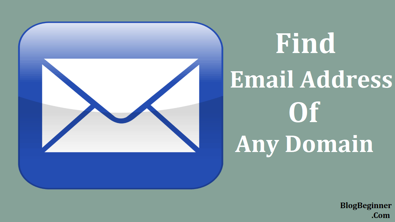find email address of any domain