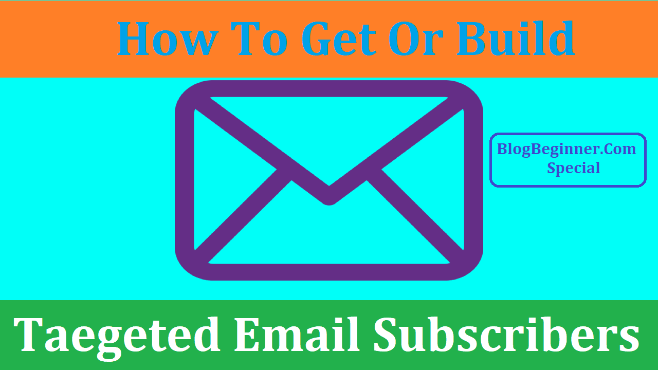 how to build targeted email list