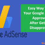 How To Get Your Google AdSense Approved After Getting Disapproved?