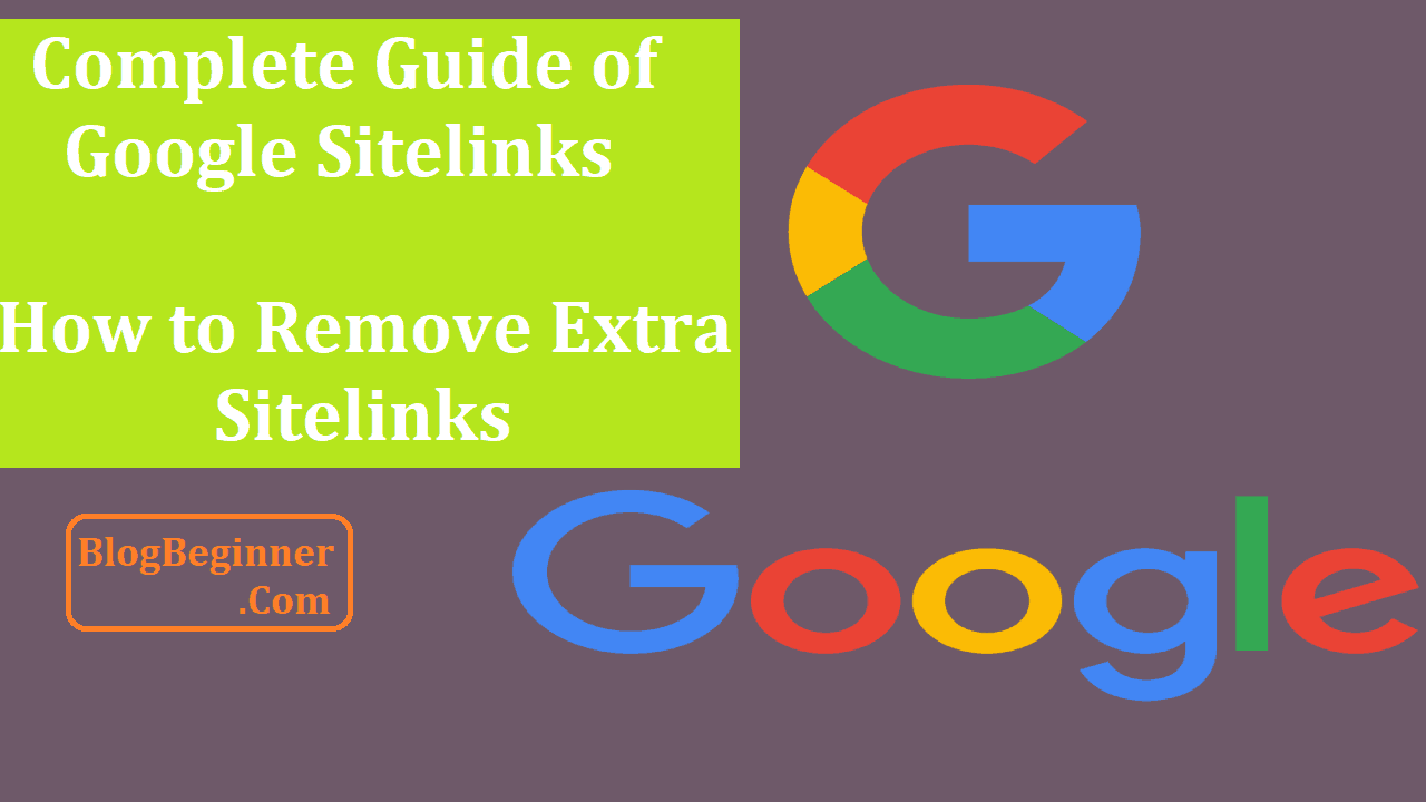 Complete Guide of Google Sitelinks