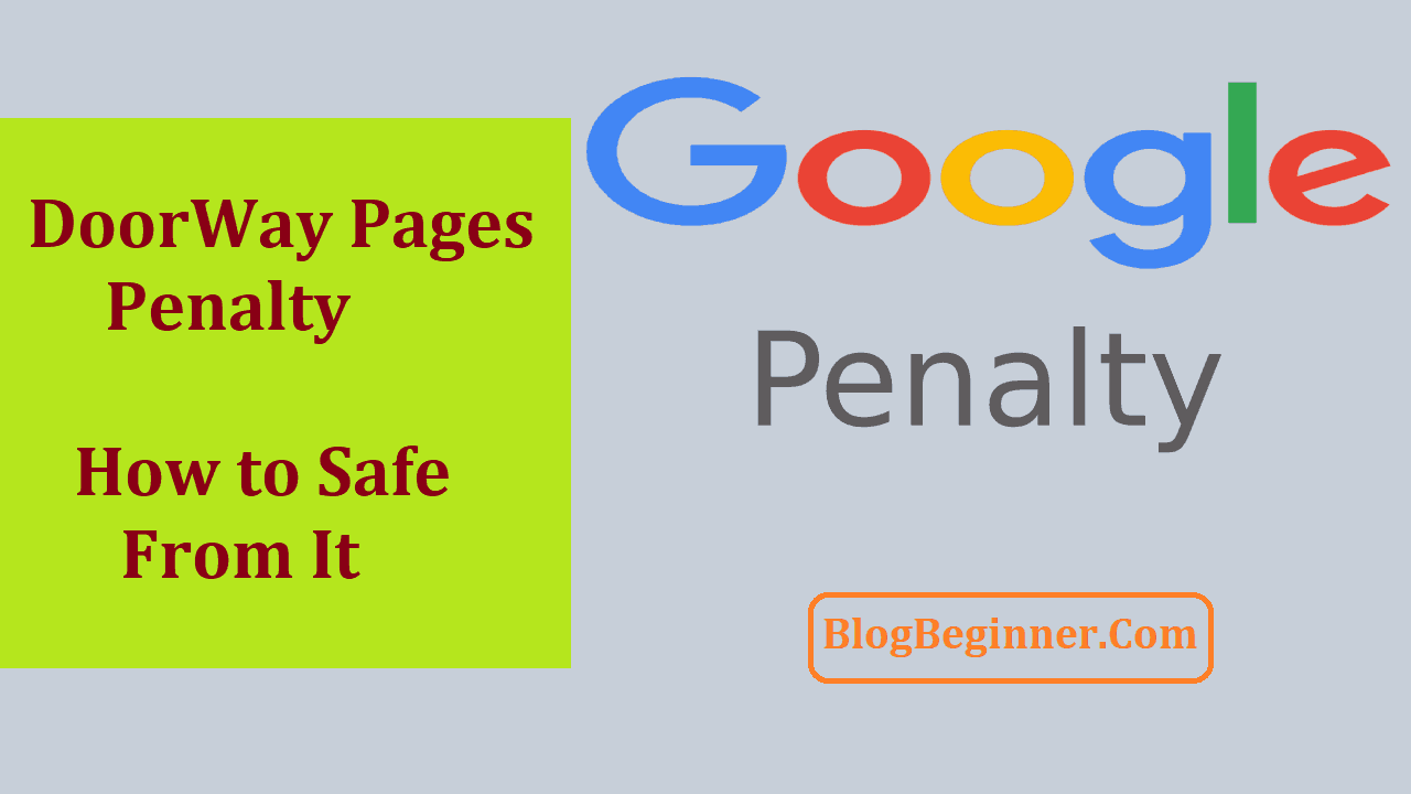 DoorWay Pages Penalty