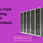How to Find Which WebHost Is Hosting: Find Hosting of Any Website