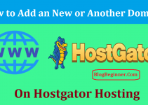 How to Add New Domain on Hostgator Hosting