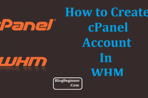 How to Create a cPanel Account in WHM
