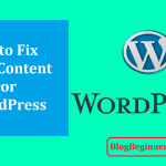 How to Fix Mixed Content Error in WordPress Quickly (SSL/HTTPS)