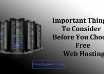 Important Things to Consider Before Choose Free Web Hosting