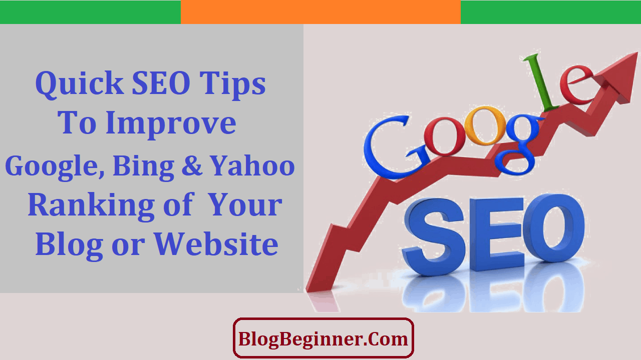 Quick SEO Tips to Improve Google Rankings