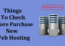 Things to Check Before Purchasing New Web Hosting
