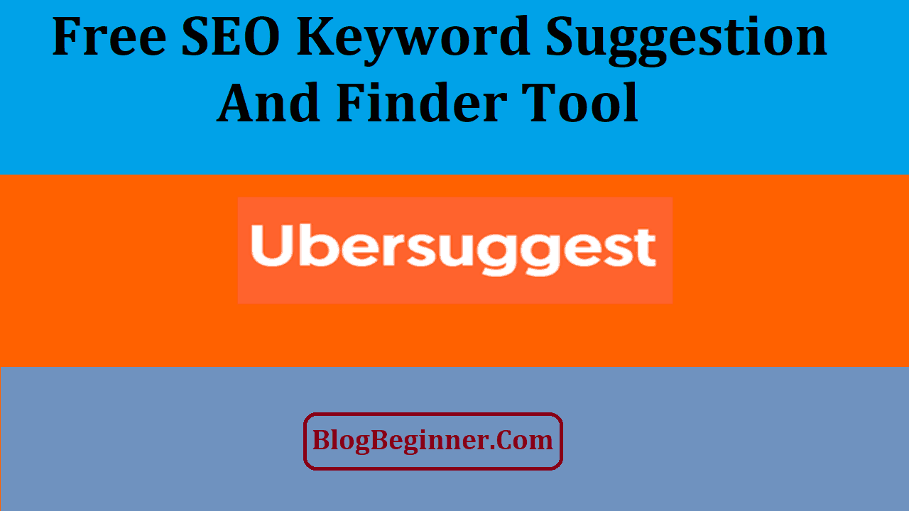 UberSuggest Free SEO Keyword Suggestion And Finder Tool