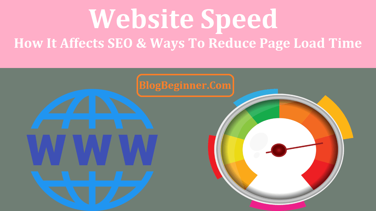 Website Speed How It Affects SEO