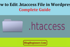 Where How to Edit .htaccess File in Wordpress