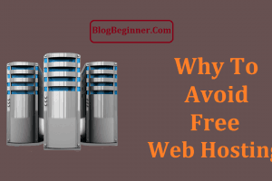Why to Avoid Free Web Hosting