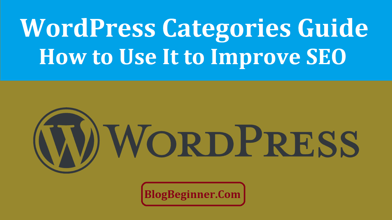 WordPress Categories Guide
