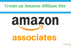 create amazon affiliate site