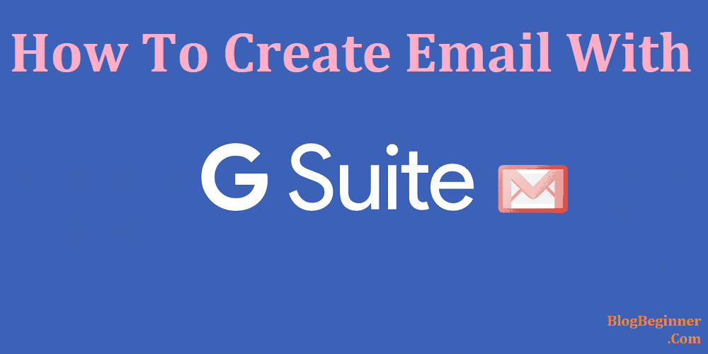 create email with g suite