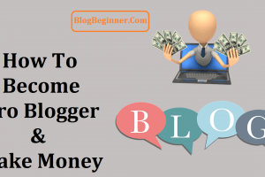 How to Become Pro Blogger and Start Earning