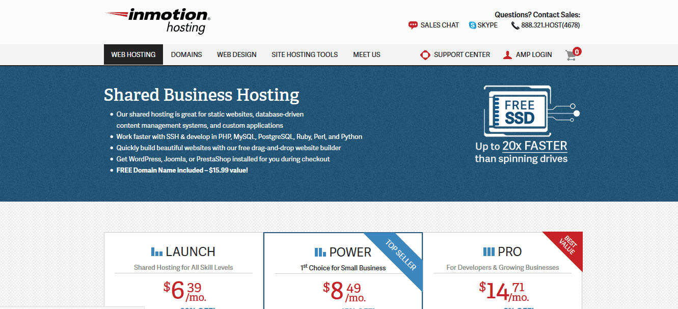 Inmotion Hosting Host