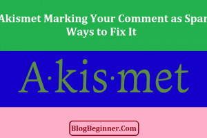 Is Akismet Marking Your Comment as Spam How to Fix It