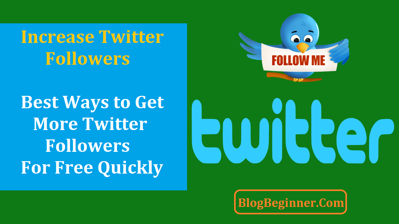 Ways to Get More Twitter Followers for Free Quickly