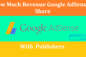how much revenue adsense share