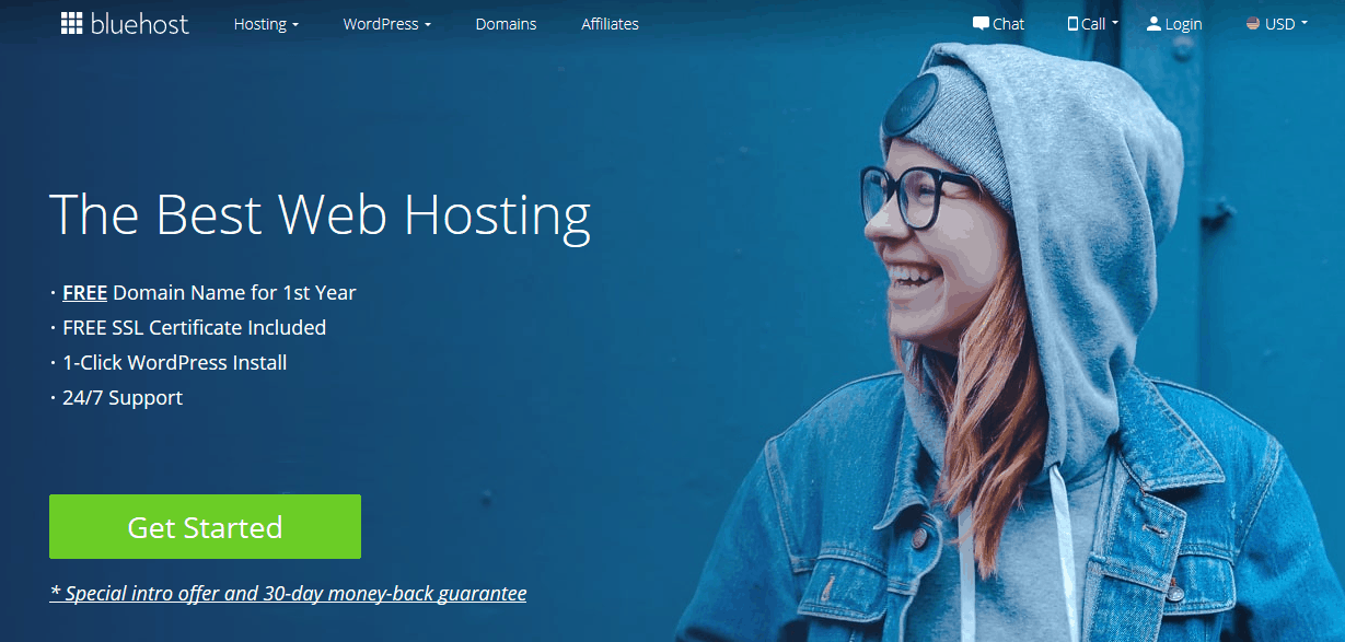 Bluehost Website Builder
