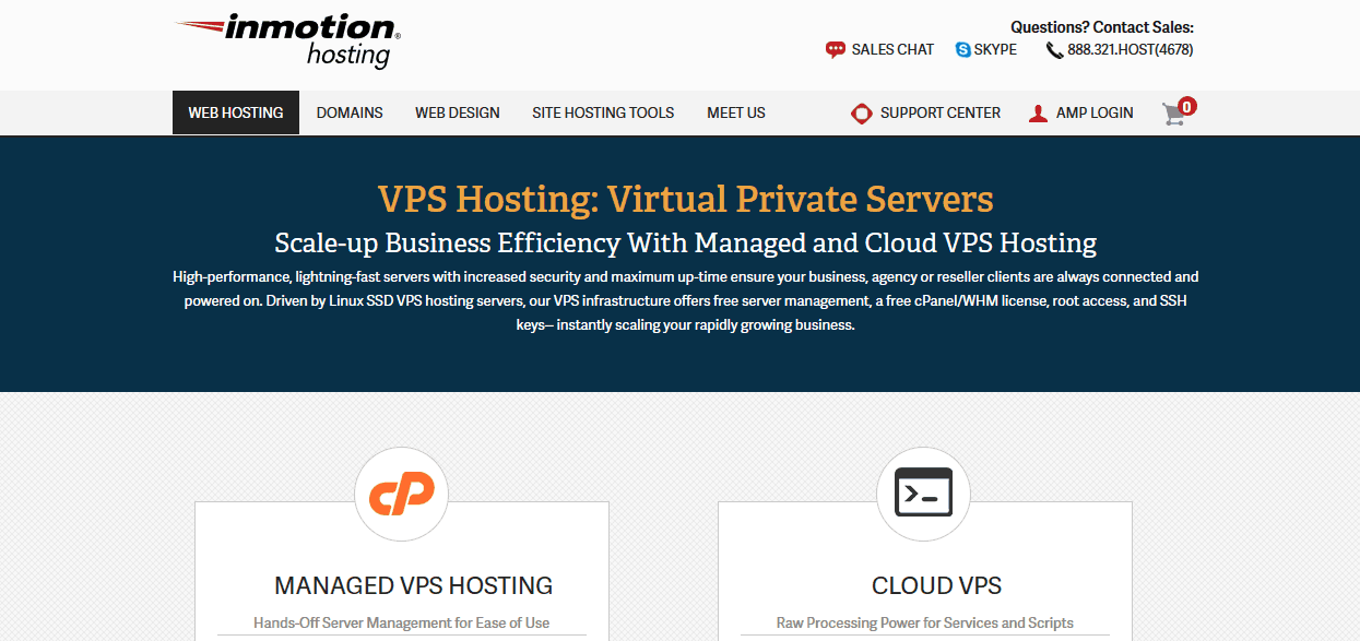 Inmotionhosting VPS Hosting