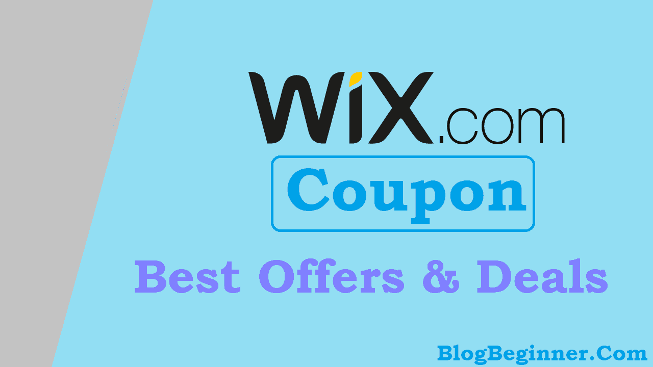 Wix Coupon 2019: Get Instant 25% Off on All Plans
