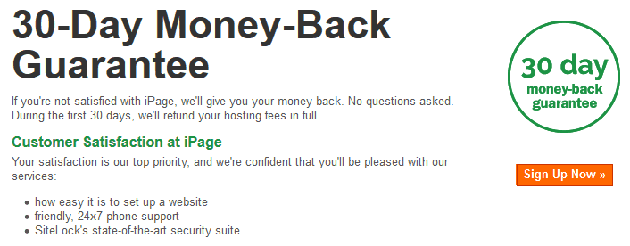 iPage-moneyback