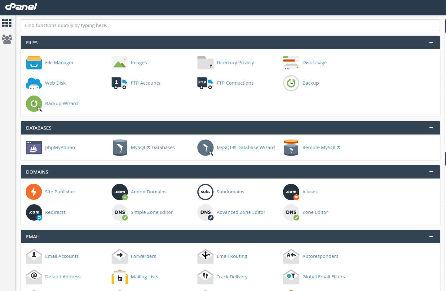 Hostwinds-cpanel