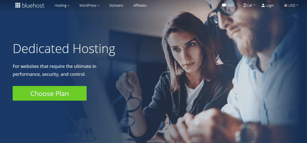 bluehost dedicated hosting