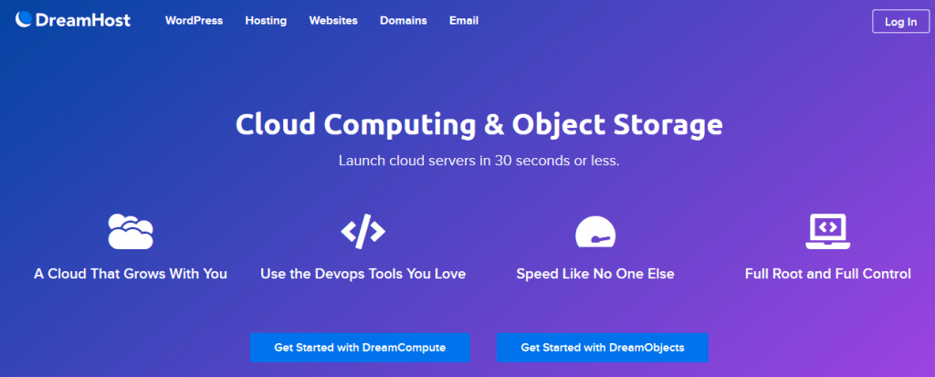 dreamhost cloud