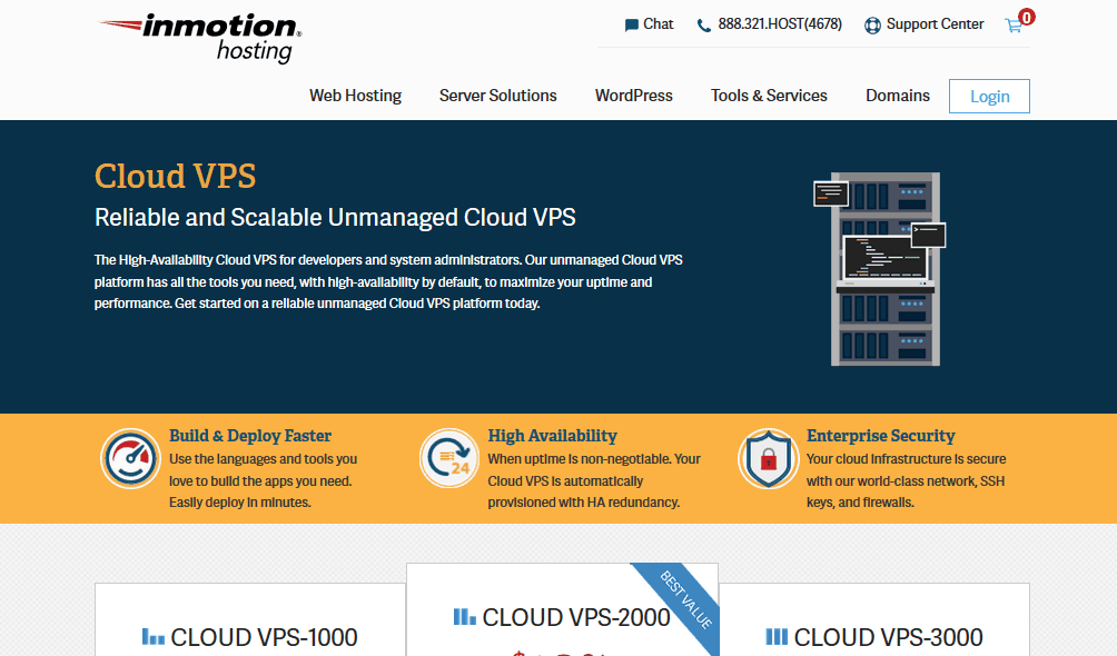 inmotion hosting cloud