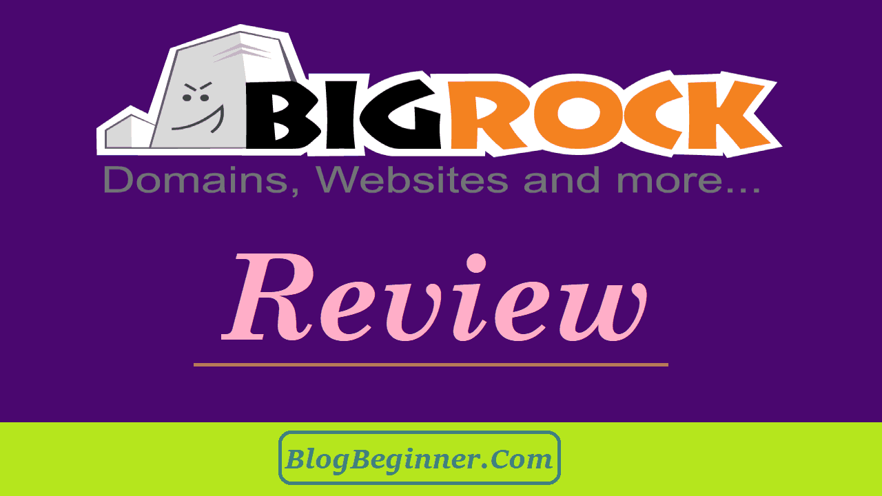 BigRock Review