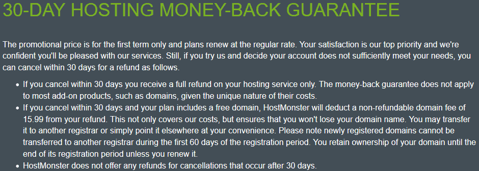 Hostmonster-moneyback