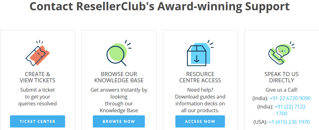 Resellerclub-support
